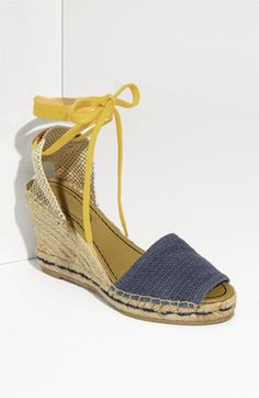 Must have for the summer!  Im in LOVE with these espadrilles!! See by Chloe. Ankle Tie Espadrille. $245