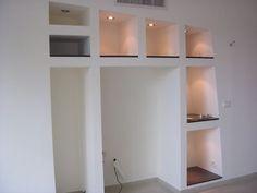 Creation bibliotheque meuble en placoplatre