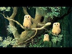 Owl Babies - Picture Book Animation use with Owl Moon