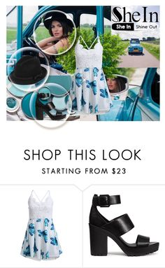 """Floral jumpsuit"" by nejra-l ❤ liked on Polyvore featuring H&M and RED Valentino"