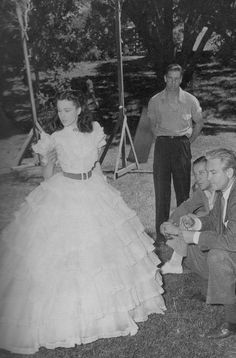 Gone With the Wind On Set