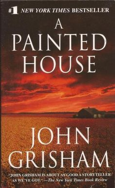 The striking paperback cover for A Painted House