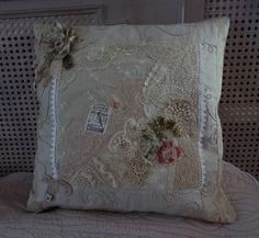 DSC00320 White Lace Bedding, Handmade Cushions, Pin Cushions, Shabby, Reusable Tote Bags, Throw Pillows, Quilts, Blanket, Sewing