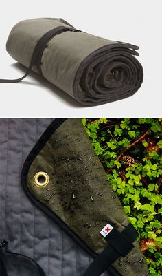The Waxed Canvas Blanket by Best Made Co
