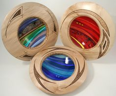 Nicest wood & glass piece i've seen!
