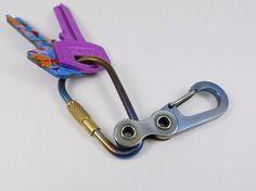 Keyring Bike-link-7 por EdcApparatus en Etsy