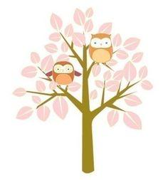 spring owl print