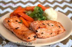 Érdekel a receptje? Kattints a képre! Jamie Oliver, Salmon, Turkey, Menu, Chicken, Recipes, Food, Menu Board Design, Turkey Country
