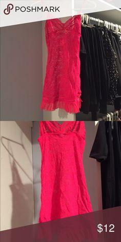 Hot pink lingerie Hot pink lingerie from Victoria's Secret. Super sexy. Victoria's Secret Intimates & Sleepwear Chemises & Slips