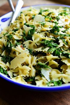 Kale Pasta Salad by Ree Drummond / The Pioneer Woman, via Flickr
