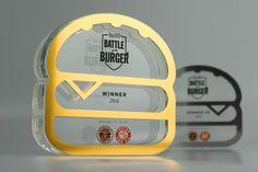 Time Out Battle of the Burger Trophies | #Design #Awards #Burger #Trophy…