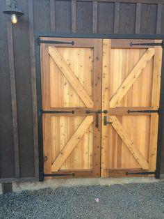 (1) Barn Doors with XL