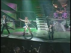 ▶ SCORPIONS [ ROCK YOU LIKE A HURRICANE ] LIVE,1991 - YouTube