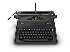 Royal Epoch Portable Manual Typewriter by Royal Purple
