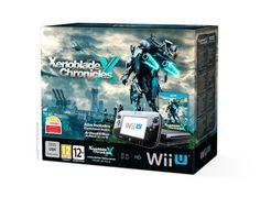 génial Pack Premium Console Nintendo Wii U 32 Go Noire + Xenoblade Chronicles X chez FNAC