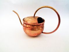 Brass Watering Can Water Can Germany 1L by LaBoutiqueDeValentin