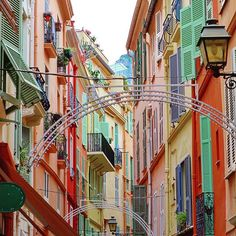 Monaco's beautiful streets