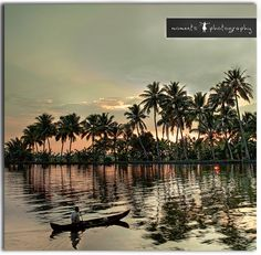 Kerala, India an everyday scene from the backwaters.. (by PNike...