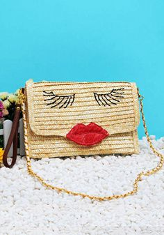 Here s Meme s straw purse. Cyndie Rae · BAG Lady d5b92593ba60e