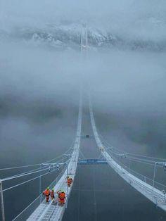 Hardanger Bridge, Norway
