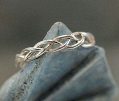 1000 Ideas About Braided Ring On Pinterest Rings