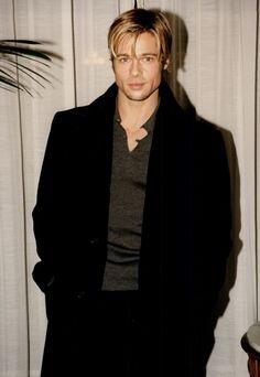 Brad Pitt | Black and gold