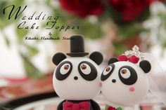 Custom wedding cake topper w/ Swarovski crystals