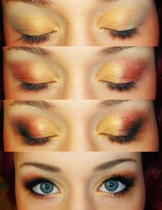 TaniaJohanna Makeup  Warm colour tutorial