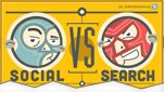 Social vs Search [Infographic]