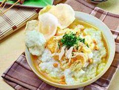 Bubur Ayam Kuah Kuning Spesial Resep Masakan Indonesia Resep Resep Makanan
