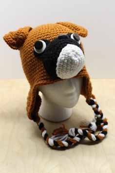 A personal favorite from my Etsy shop https://www.etsy.com/listing/510700501/crochet-boxer-hat