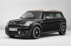 Mini Clubman Bond Street inspired by London shopping - love the shades of brown!