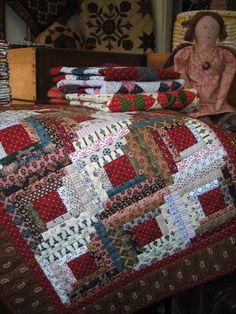 I loooove Log Cabin patterns