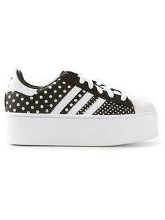 Adidas Originals 'Superstar platform trainer, as seen on