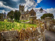 St. Andrew's parish church, Fontmell Magna, Dorset.
