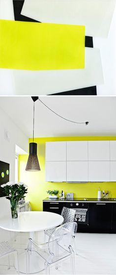 Black and White with a Splash of Lemon - Hello Sunshine! / Art: Derek Root; Interior: Deko