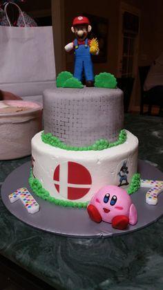 #SuperSmashBros Cake