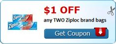 save $1 when you buy any TWO (2) Ziploc brand bags (these things are GOOD!)
