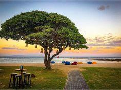 Colourful experience at Ayodya's #BeachBar. #mengiatbeach #nusadua #bali Photo by: @denkerdeckphotograph