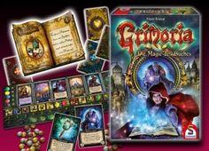Der Obermagier von Grimoria sucht einen Nachfolger. Doch wer soll es werden? Wer beherrscht die verschiedenen Formen der Magie und ist in der Lage die richtigen Gefährten um sich zu sammeln? Bist du der Lehrling der zum neuen Meister werden wird?