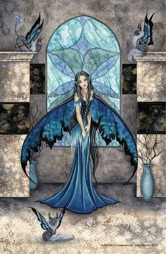 Amy Brown fairy art. Happy Fairy Day, June 24th, from Faery Ink Press! (faeryinkpress.com).