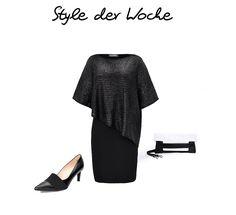 Schickes Outfit für die kommenden Feiertage mit dem Kleid von Doris Streich!