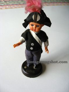 "Vintage CELLULOID DOLL Very Old Rome Plastiroma 5 1/2"" italyEyes Move  Ask a Question $18.00 USD. CA"
