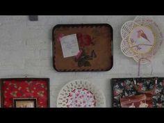Παλιοί δίσκοι κορνίζες τοίχου - YouTube Channel, Youtube, Diy, Bricolage, Do It Yourself, Youtubers, Homemade, Diys, Youtube Movies