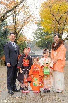 七五三の出張撮影 @埼玉県久喜市・鷲宮神社