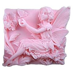 Free shipping 3D Butterfly Angel Craft Art Silicone Soap mold Craft Molds DIY Handmade Candle mold Chocolate Mold moulds