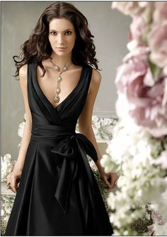 Black Bridesmaids Dresses | fashjourney.com