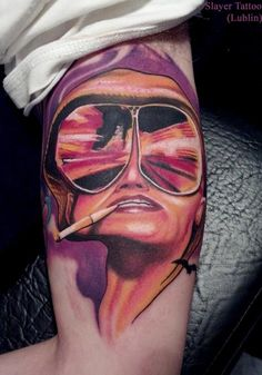 Fear & Loathing In Las Vegas #tattoo