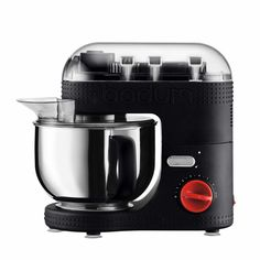 Bodum® Bistro Capacity Electric Stand Mixer in Black Robot Kenwood, Rules For Kids, Bistro, Cheap Meals, Freshly Baked, Bread Baking, Bedding Shop, Nespresso, Cookware