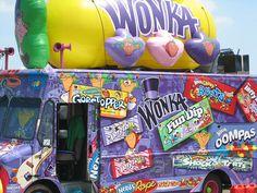 Willy Wonka and Branch's candy, kid! 80s Kids, Willy Wonka, Candyland, My Ride, Nerd, Ice Cream, Lol, Trucks, Cool Stuff